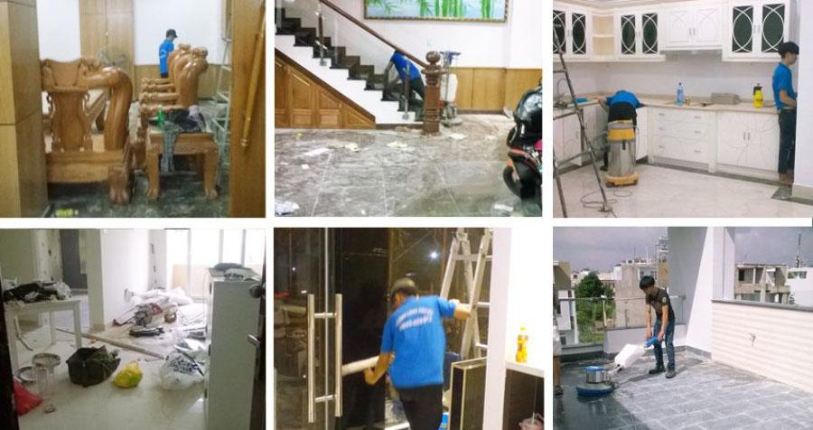 Dịch vụ vệ sinh nhà giá rẻ