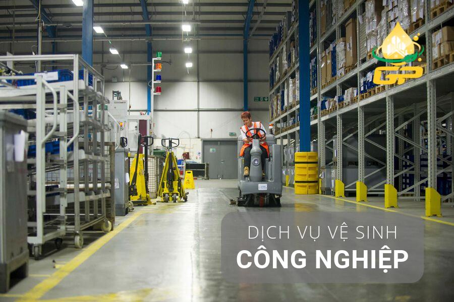 Vệ sinh công nghiệp Vĩnh Long
