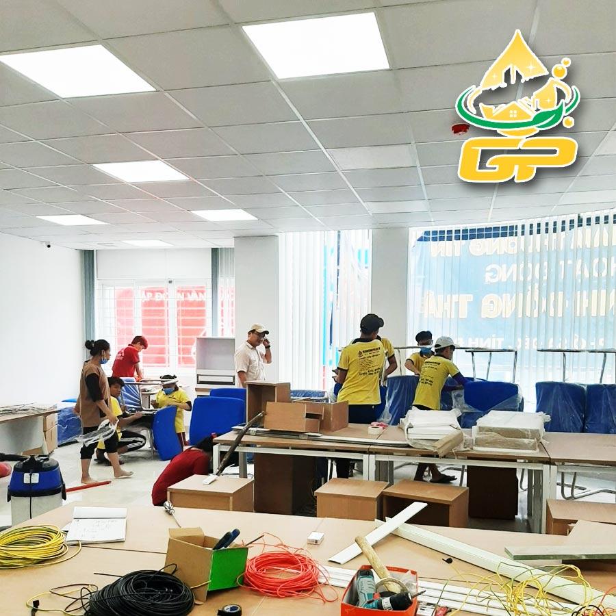 Dịch vụ dọn nhà, văn phòng, nhà xưởng,... chuyên nghiệp tại Vĩnh Long
